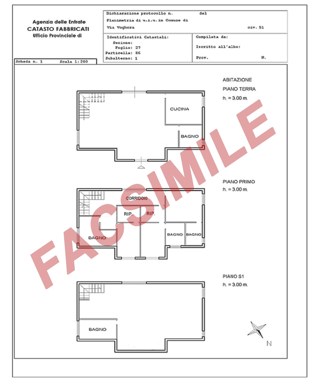 Planimetria Casa Con Misure come fare la visura della planimetria catastale - danilo torresi